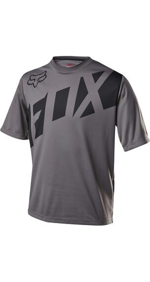 Fox Ranger Koszulka kolarska Mężczyźni szary/czarny